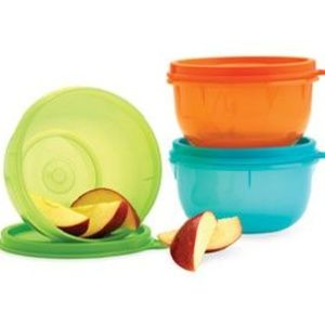 Tupperware Ideal Lit'l Bowls - Brand New